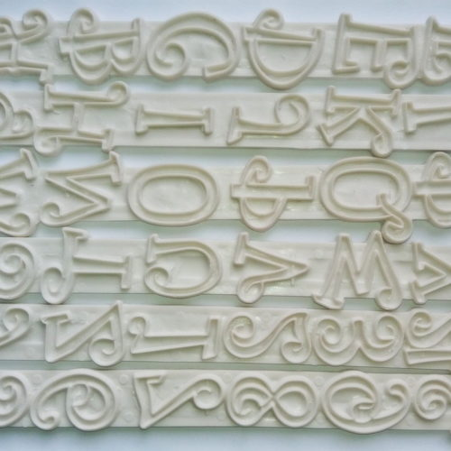 Cortadores de Alfabeto e Numéricos
